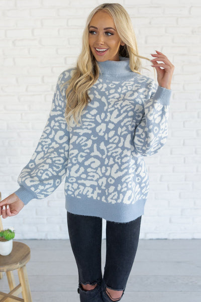 Can't Get Enough Modest Sweater Tops vendor-unknown