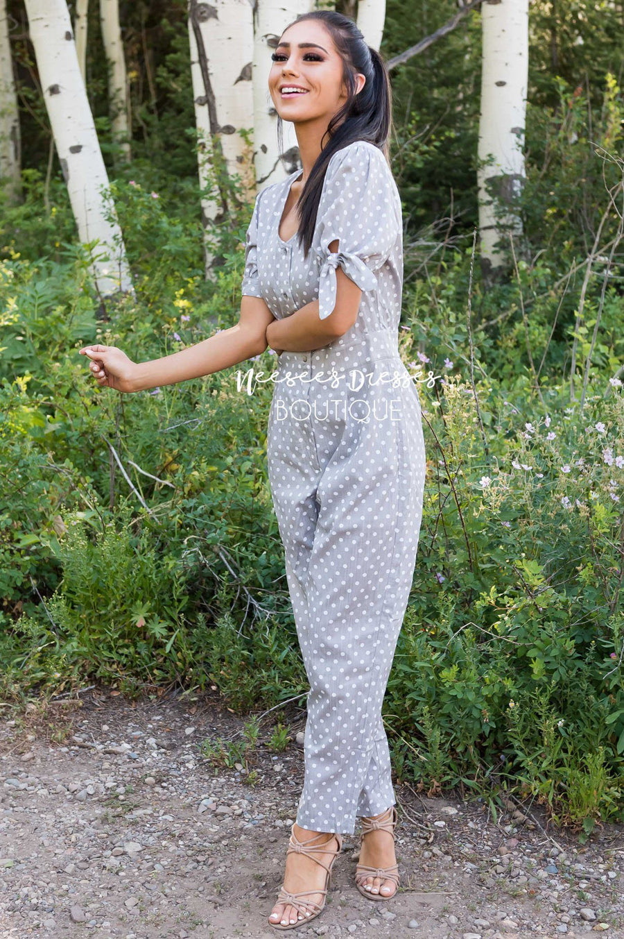The Malinda Modest Jumpsuit