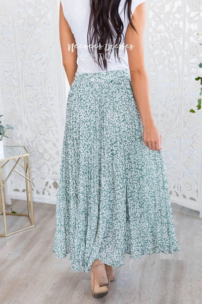 Lost Time Modest Leopard Print Skirt Modest Dresses vendor-unknown