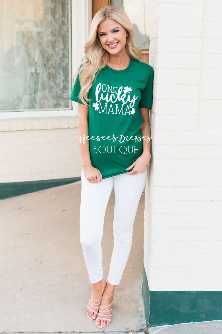 One Lucky Mama Modest Tee