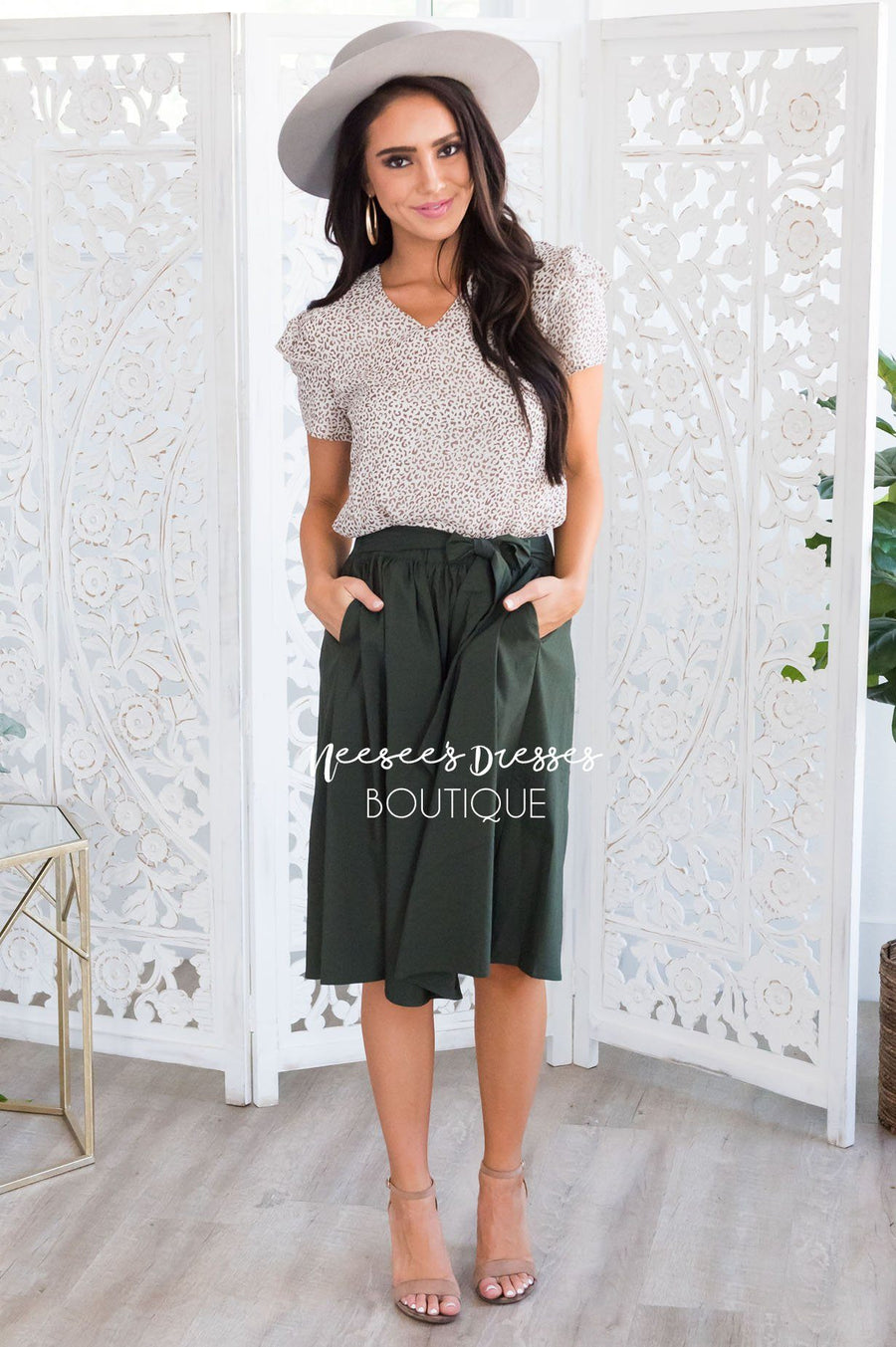 Adventure Seeker Modest Skirt
