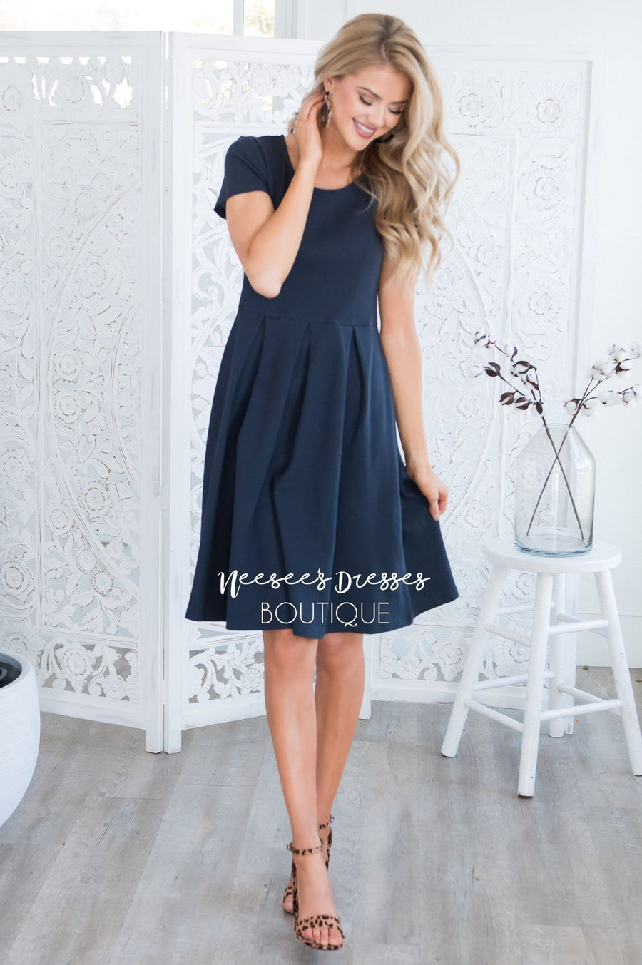 The Hazel Modest Dresses vendor-unknown
