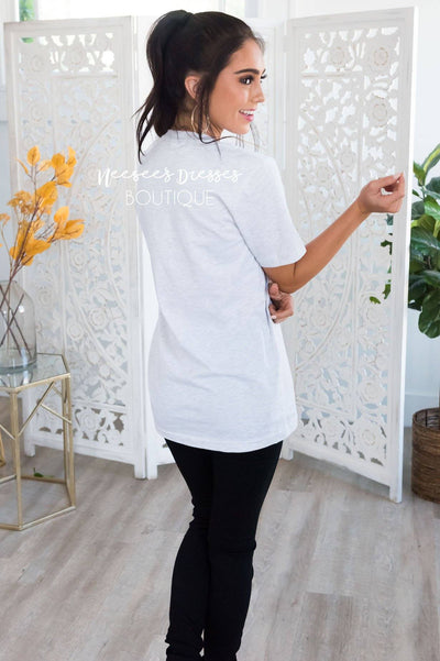 Hello Fall Modest Tee Modest Dresses vendor-unknown