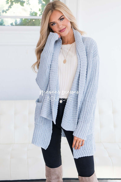 Chasing A Memory Chunky Knit Cardigan