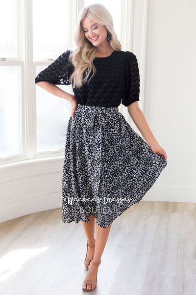 It's All in the Details Skirt Modest Dresses vendor-unknown