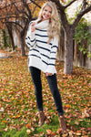 Cozy By The Fire Turtle Neck Sweater Tops vendor-unknown