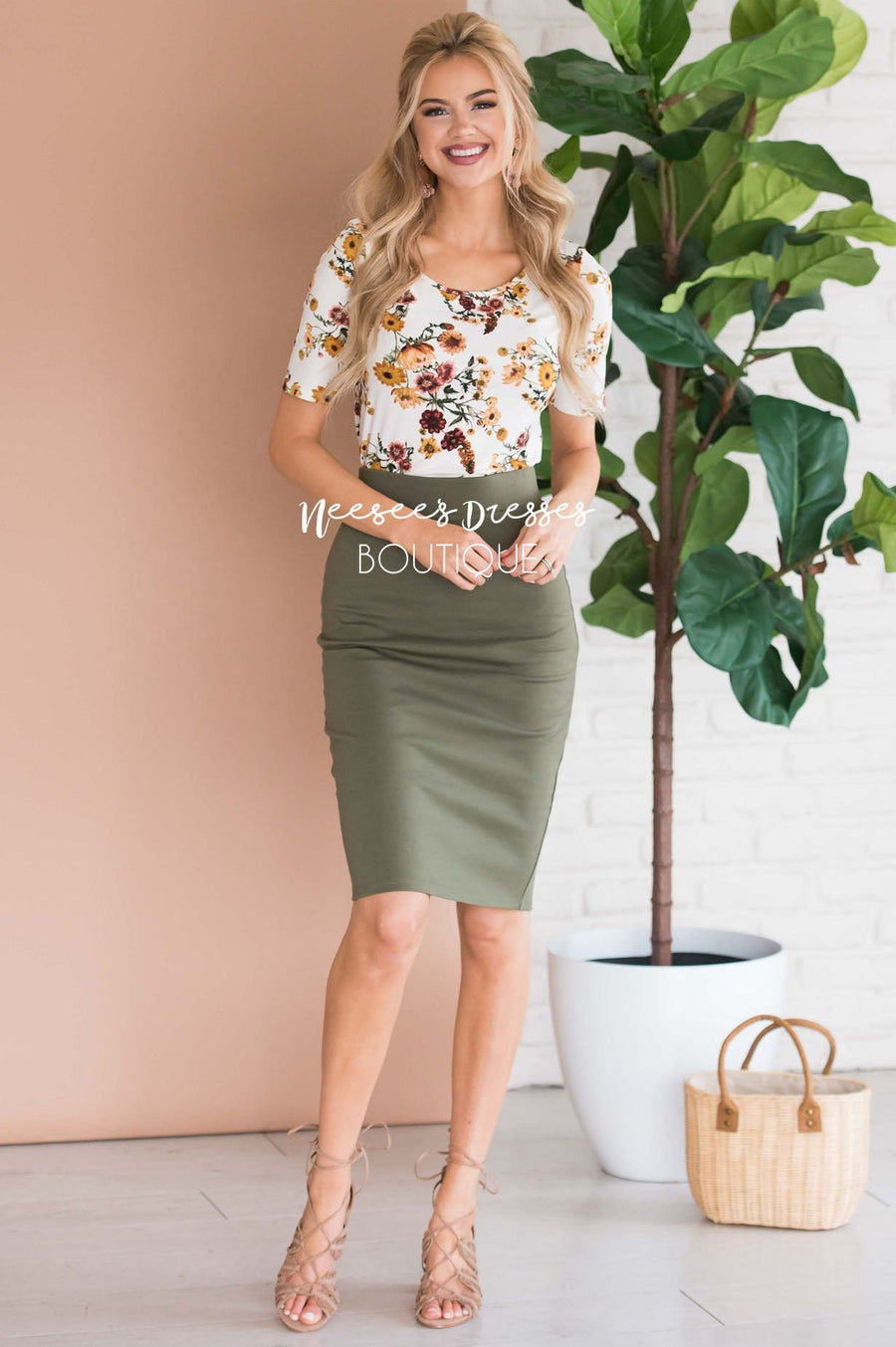 Perfect Fit Pencil Skirt