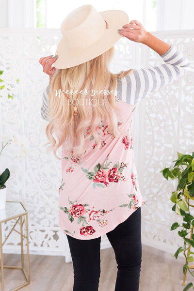 Keep Your Promises Modest Baseball Tee Modest Dresses vendor-unknown
