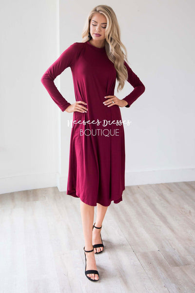 The Kelby Swing Dress Modest Dresses vendor-unknown