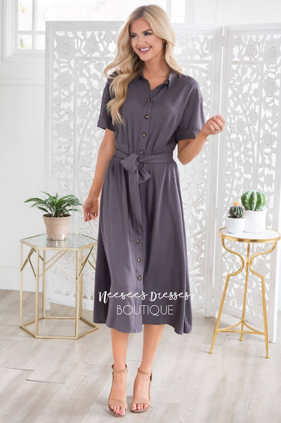 The Lenzie Modest Dresses vendor-unknown