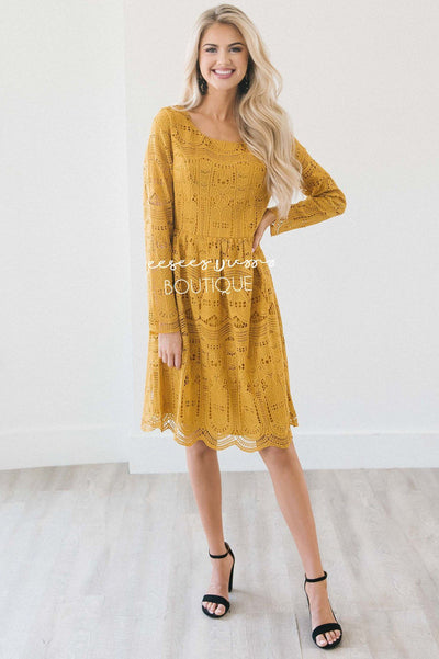 The Novalee- Long Sleeve Modest Dresses vendor-unknown