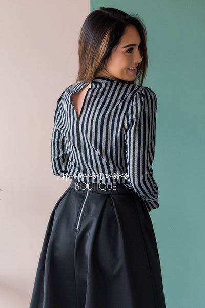 Lost In Stripes Blouse