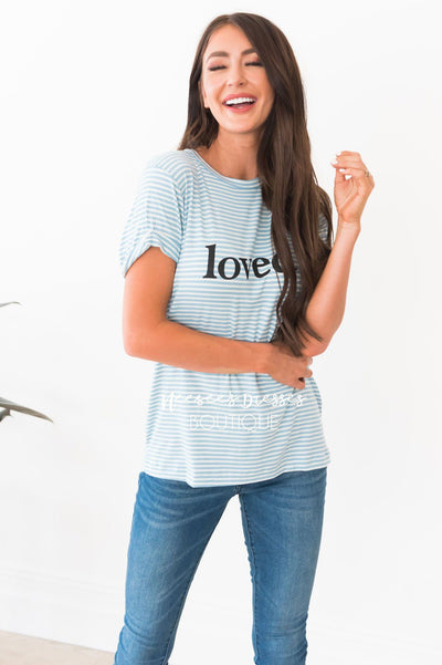 Loved Modest Tee Modest Dresses vendor-unknown