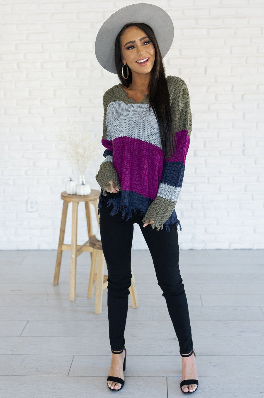 In The Zone Modest Sweater