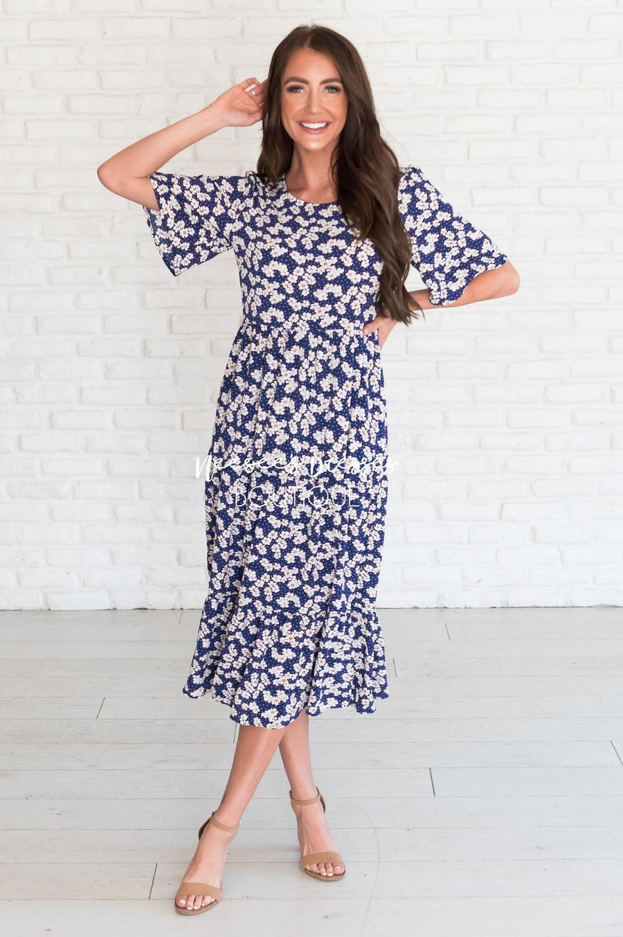 The Maisy Daisy Dress Modest Dresses vendor-unknown