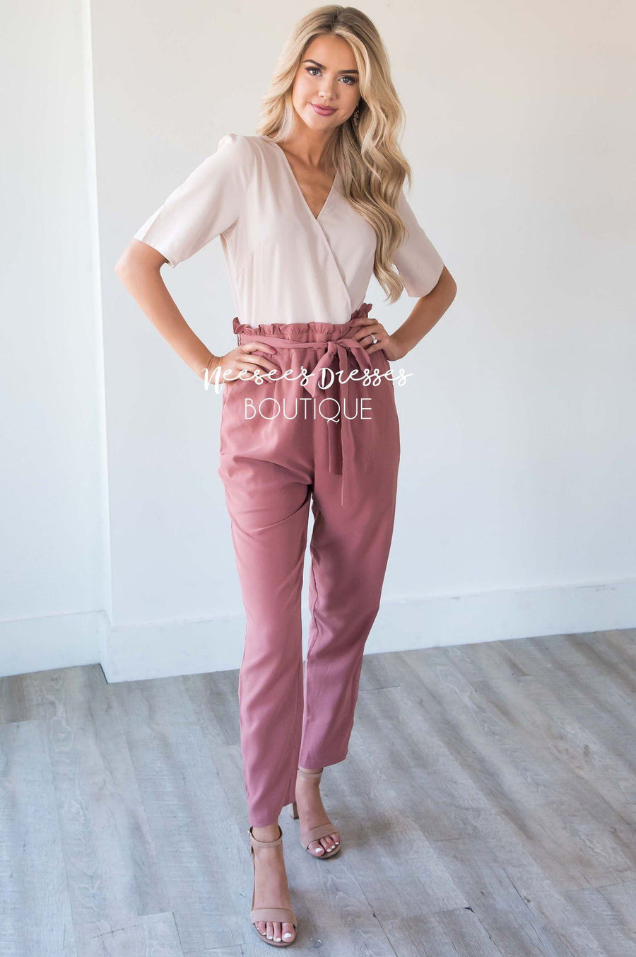 The Madison Two Tone Jumpsuit