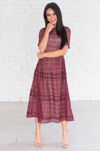 The Melana Modest Dresses vendor-unknown