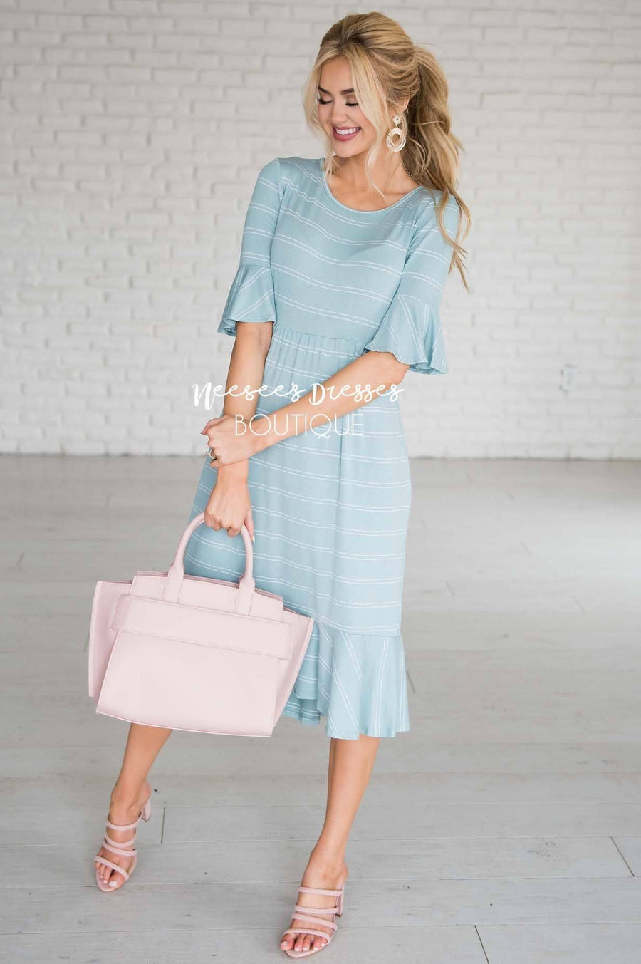 The Jessa Bell Sleeve Dress