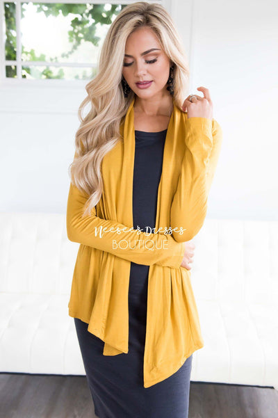 Never Too Chill Cardigan Tops vendor-unknown
