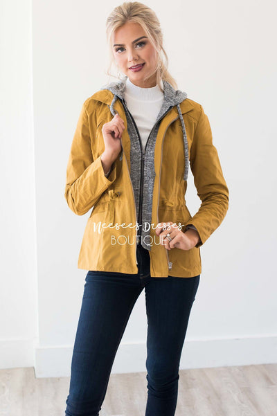 Stormy Night Cargo Jacket Tops vendor-unknown