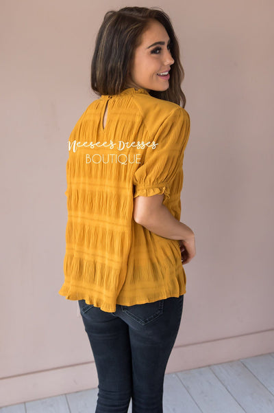 Right Direction Modest Blouse Tops vendor-unknown