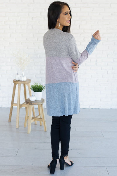 Worth The Chase Modest Block Cardigan Modest Dresses vendor-unknown