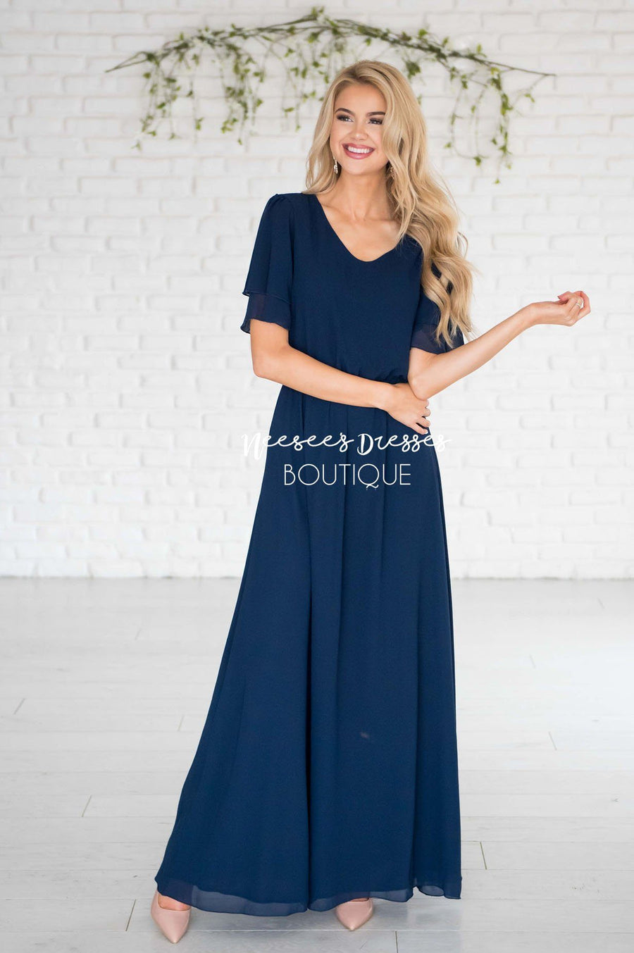 433da7d400bcf The Chloe Chiffon Maxi Dress Modest Dresses vendor-unknown