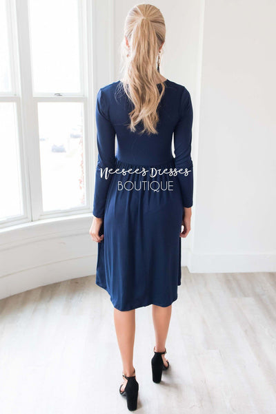 The Maria Cross Front Dress