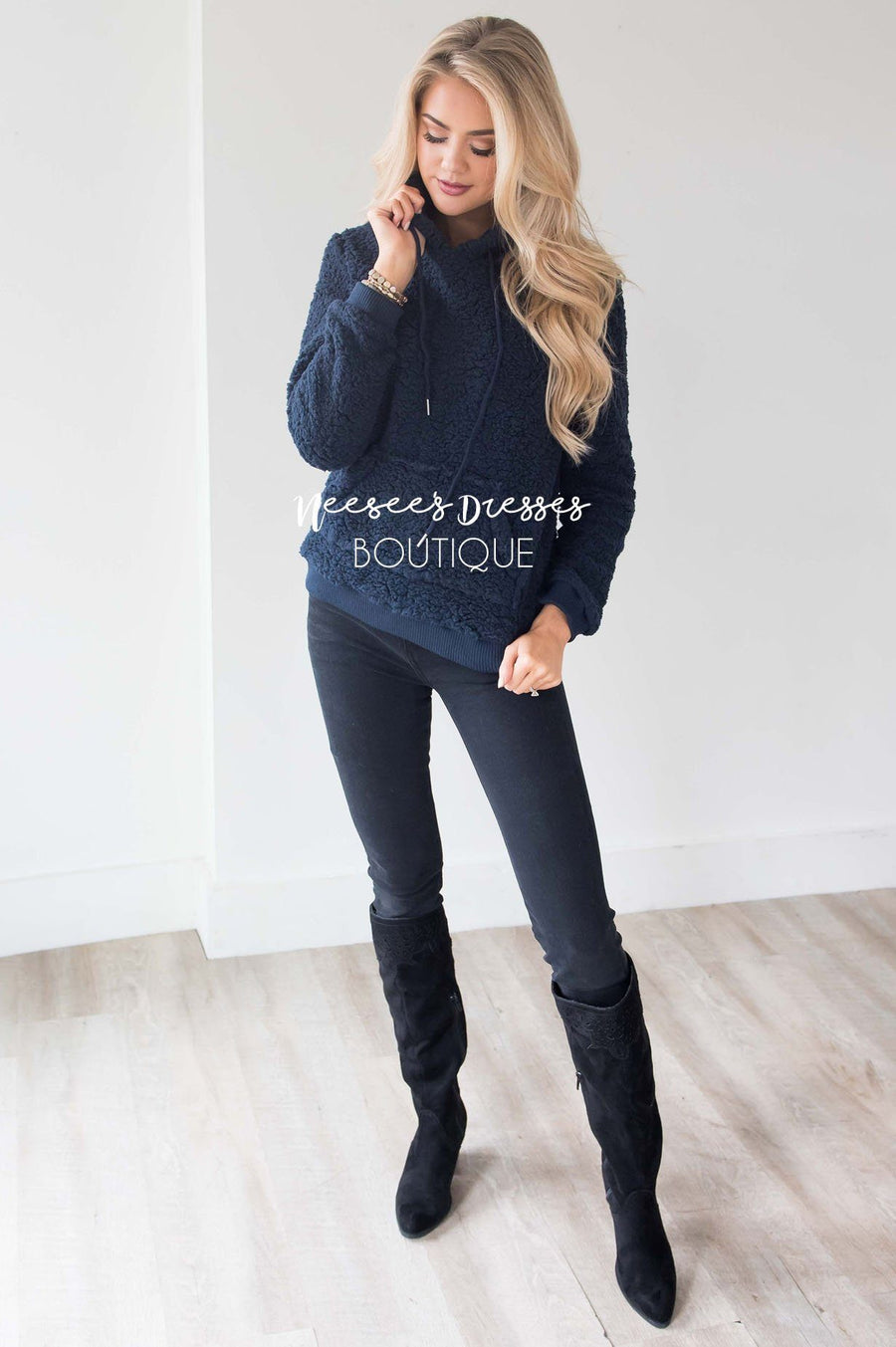 Cozy Fleece Hoodie Sweater