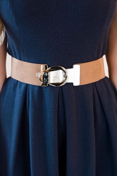 Surely Sweet Gold Clasp Belt