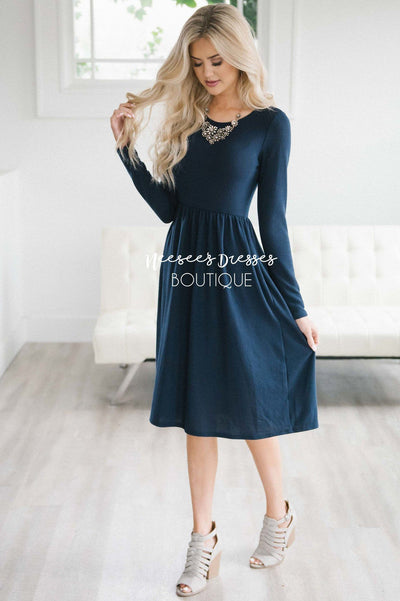 The Keltsy Sweater Dress Modest Dresses vendor-unknown