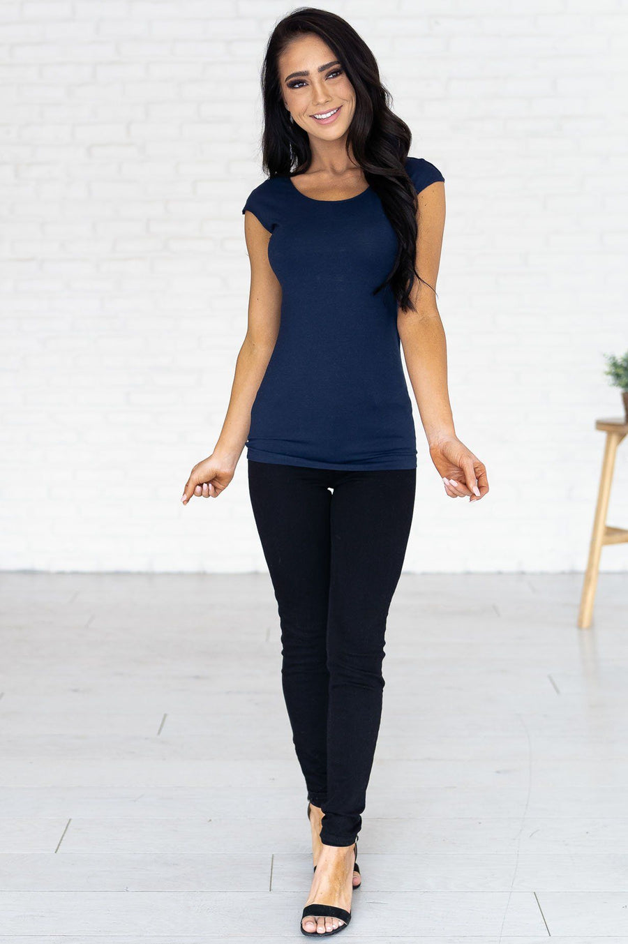 Cap Sleeve Modest Layering Tee