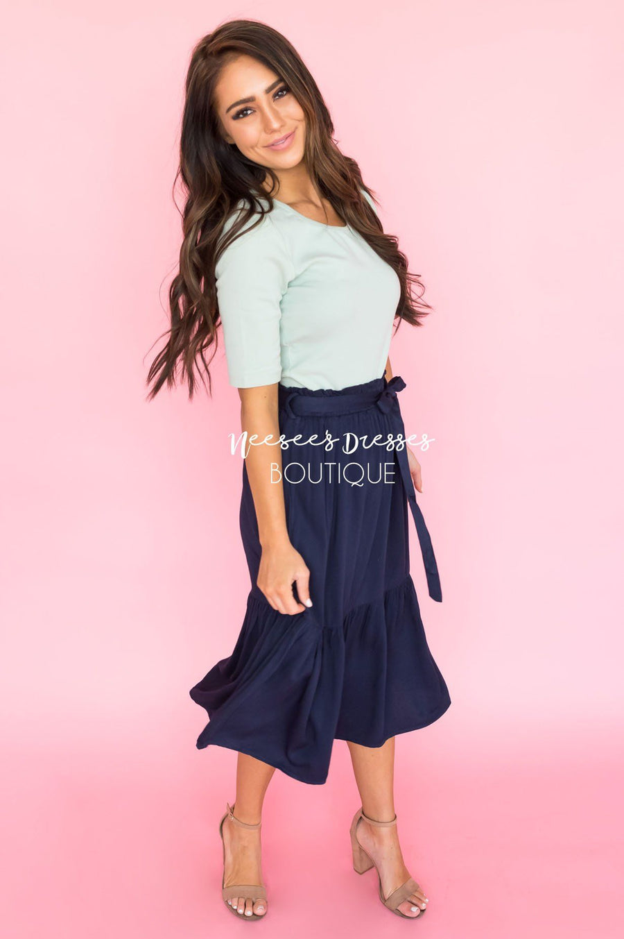 Forget Me Not Modest Skirt