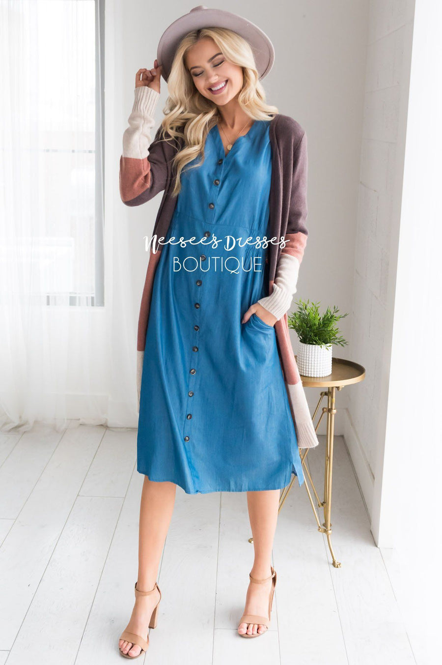 The Chara Denim Dress