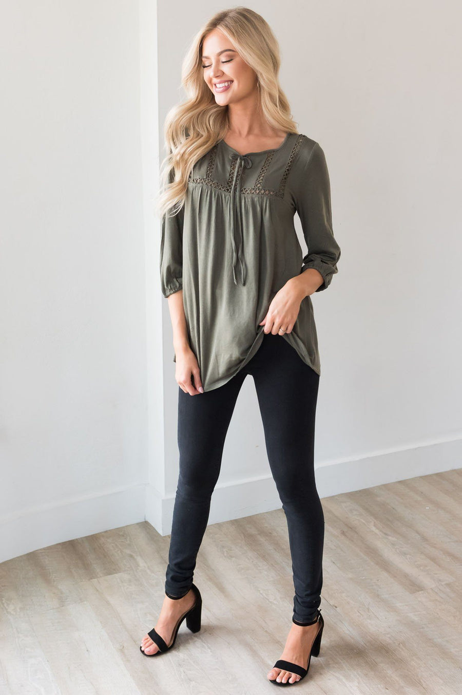 Always On My Mind Modest Layering Top Modest Dresses vendor-unknown