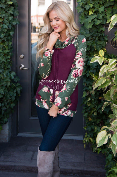 Once Upon A Time Thermal Hoodie Modest Dresses vendor-unknown
