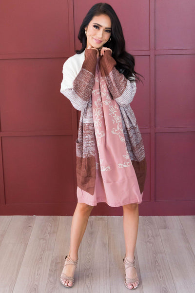 Toasted Marshmallow Cardigan Modest Dresses vendor-unknown