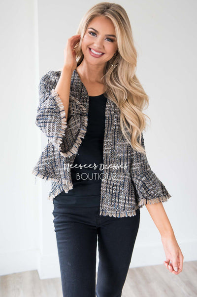 We're Chasing Forever Peplum Jacket