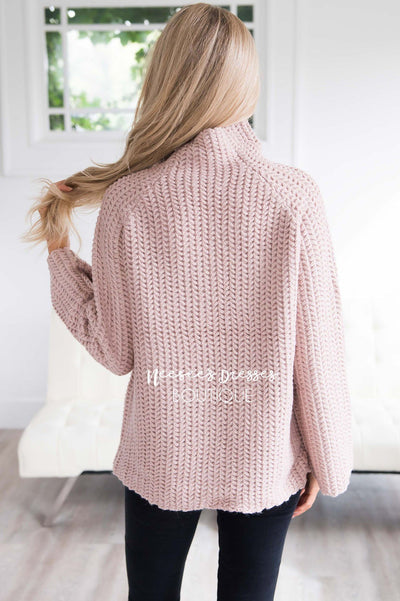 Knit For Me Bell Sleeve Sweater Tops vendor-unknown