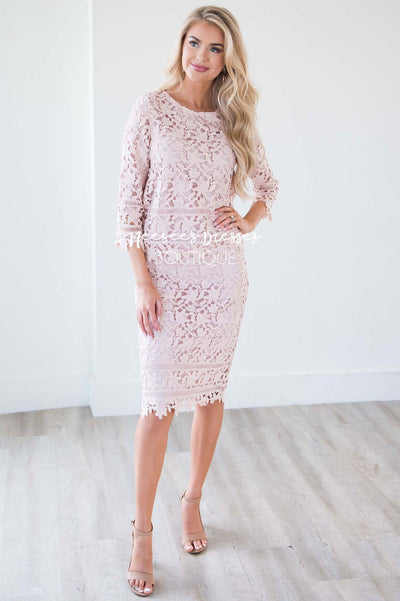 The London Two Piece Lace Dress Set
