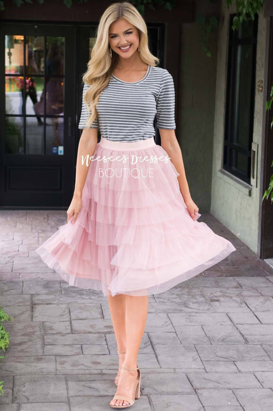 Fall in Love Tiered Tulle Skirt