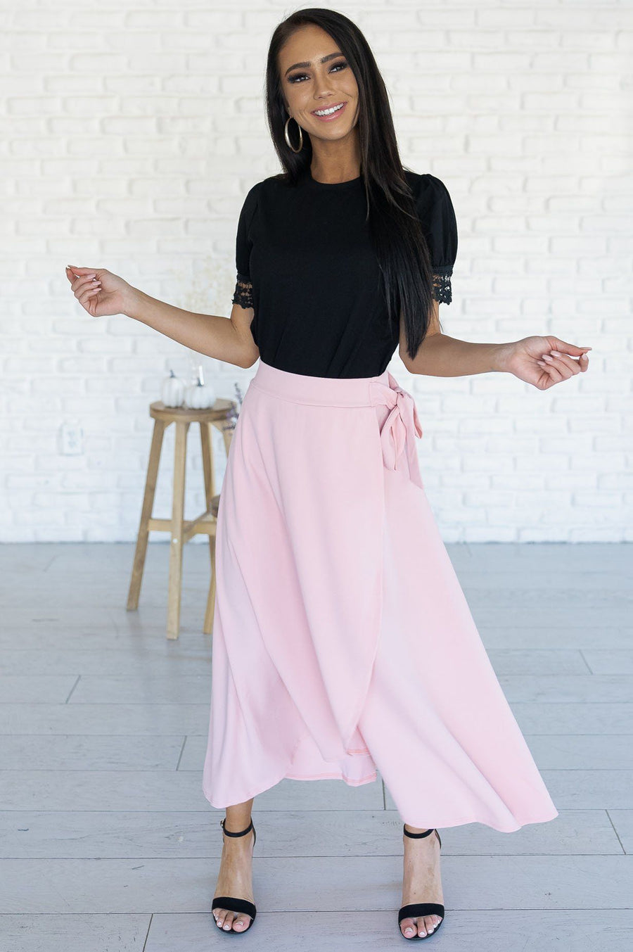 Stand By Our Love Modest Circle Skirt