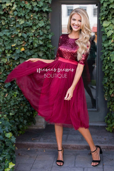 Prima Ballerina Tulle Dress Modest Dresses vendor-unknown