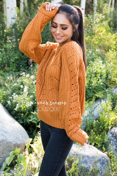 Harvest Time Modest Sweater Modest Dresses vendor-unknown