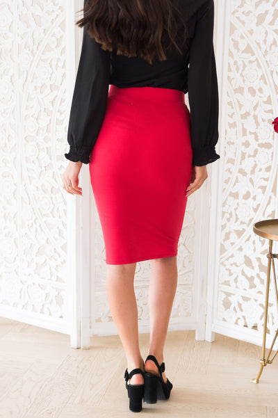 Missing You Modest Pencil Skirt Modest Dresses vendor-unknown