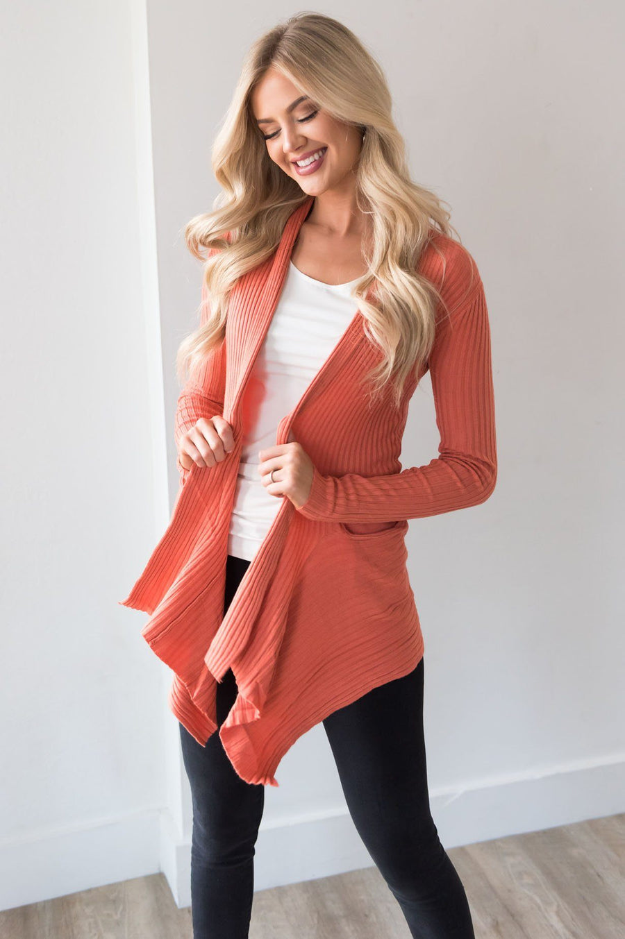 Sunny Days Ahead Modest Cardigan Tops vendor-unknown