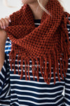 Cozy On Up Fringe Infinity Scarf Accessories & Shoes Leto Accessories