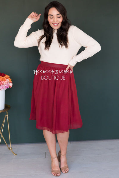 Dream On Knit Sweater Modest Dresses vendor-unknown