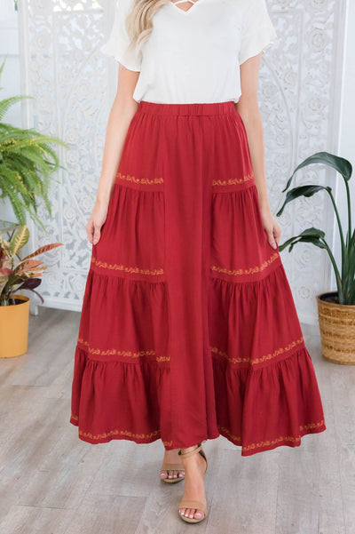 Perfect Day Modest Maxi Skirt Modest Dresses vendor-unknown