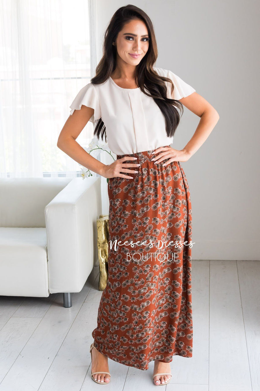 Bring The Fun Paisley Maxi Skirt